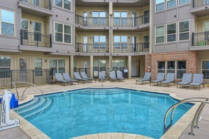 Relaxing Saltwater Lounge Pool in The Linden Apartments